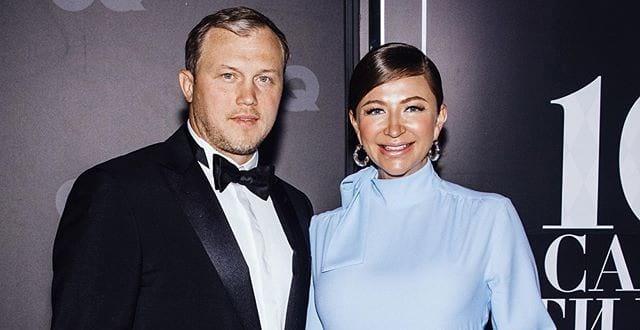 Елена Блиновская с мужем