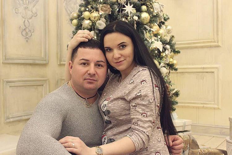 Инна Вальтер с мужем Вадимом Мамзиным