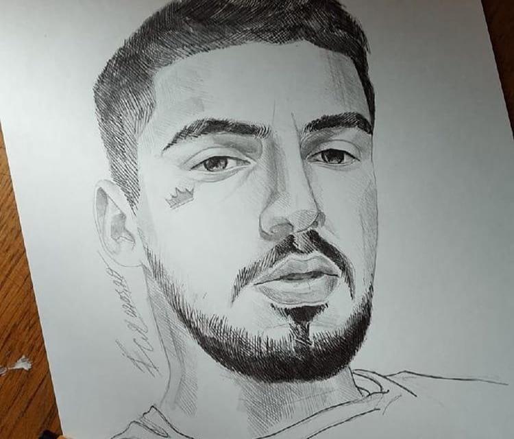 Рисунок Джаро карандашом
