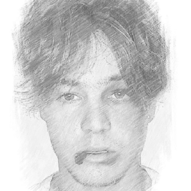 Ник Остин рисунок карандашом
