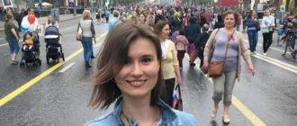 Сиразитдинова Диана на Параде Дня Победы в 2020 году