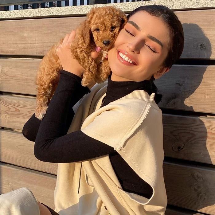 Басаева осенью 2020 года с Теодором
