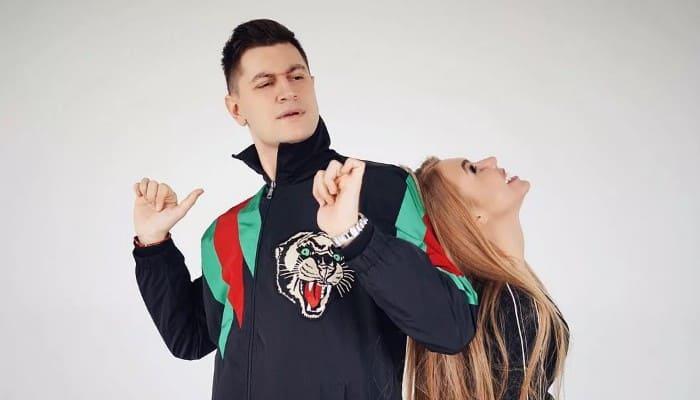 Давид Манукян с Кариной Лазарьянц